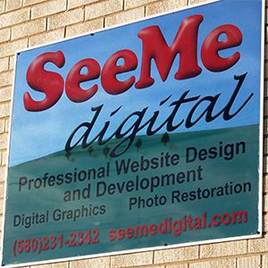 SeeMe Digital sign